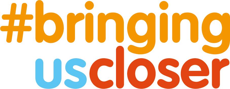 Logo #bringinguscloser - Motto Welt-MS-Tag 2018