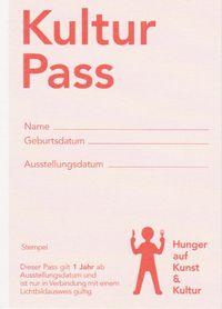 "Kulturpass: Hunger auf Kunst"""