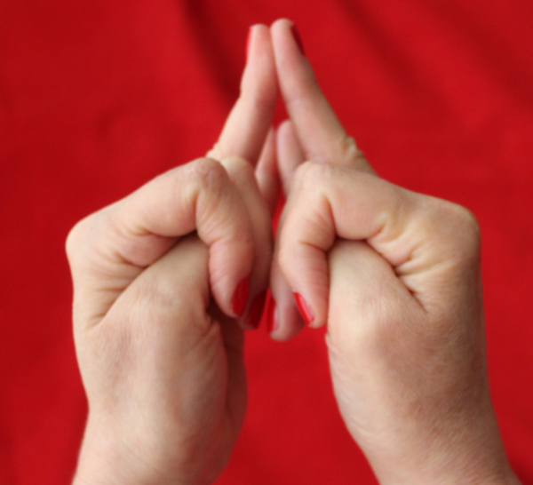 Fingeryoga: Shakti Mudra bei Schlaflosigkeit