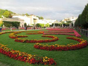 Mirabellgarten in Salzburg, Foto: Pixabay