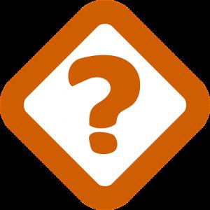 Fragezeichen in oranger Farbe, Credit: Pixabay
