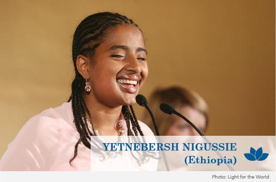Yetnebersh Nigusse, Foto: Licht für die Welt