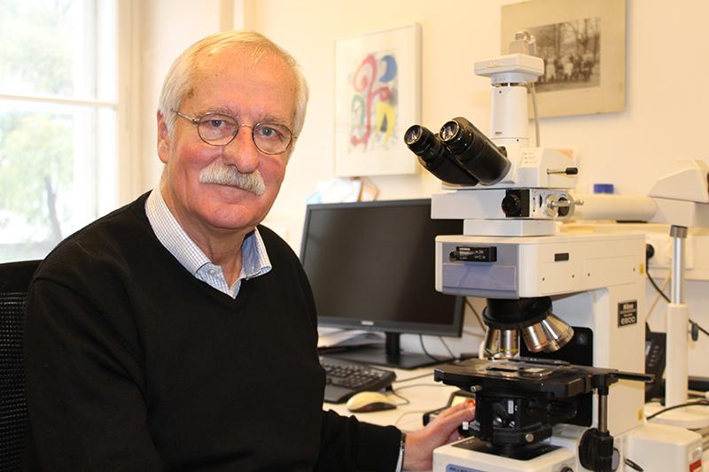 Portrait Univ. Prof. Dr. Hans Lassmann, Foto: Kerstin Huber-Eibl