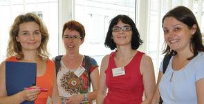 Mitarbeiterinnen der MS-Gesellschaft Wien