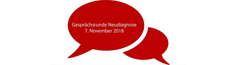 Neudiagnose: Gesprächsrunde für Menschen mit MS und Angehörige