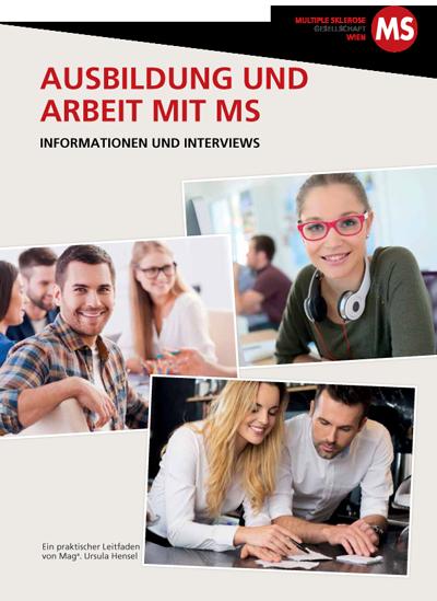 Die Broschüre Ausbildung und Arbeit mit Multipler Sklerose informiert umfassend zu Ausbildung und Arbeit. Finden Sie Antzworten auf die häufigsten Fragestellungen, die im jeweiligen Lebensabschnitt auftreten können.