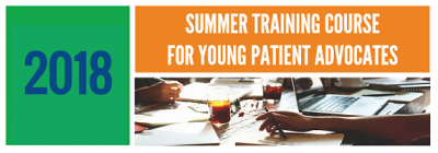 Logo Summer Training Course for Young Patients Advocates – Leadership Programme der European Patients Forum