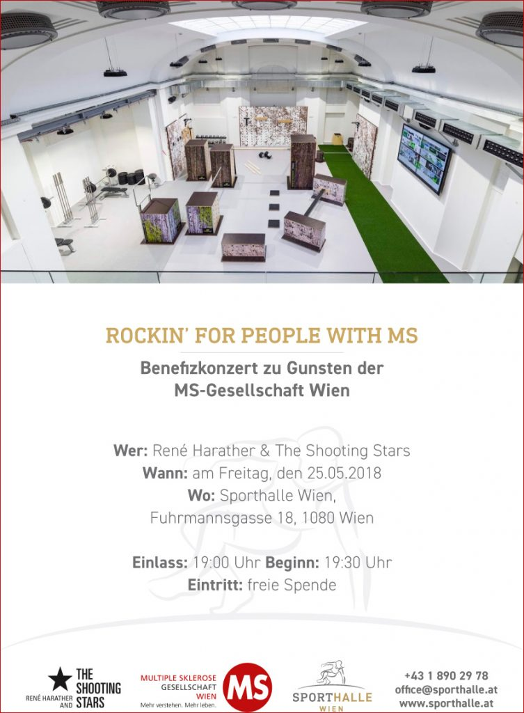 Plakat: Rockin´ for People with MS