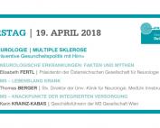 Beim PRAEVENIRE Gesundheitsforum referieren Elisabeth Fertl, Thomas Berger und Karin Krainz-Kabas über verschiedene Aspekte der Multiplen Sklerose.