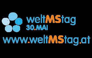 Logo Welt-MS-Tag: Der Welt-MS-Tag 2018 findet am 30. Mai 2018 statt und widmet sich der MS-Forschung.