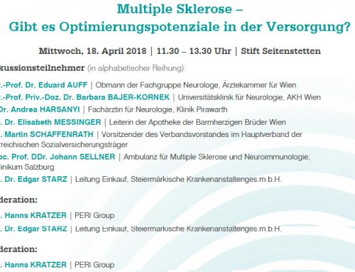 Multiple Sklerose – Optimierungspotenziale in der Versorgung