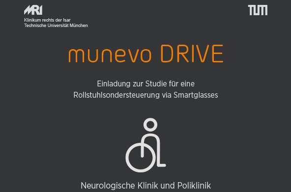 Einladung zur Studie für eine Rollstuhlsondersteuerung via Smartglasses