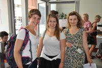 Welt-MS-Tag 2018 und 15 Jahre MS-Beratungszentrum: Ulrike Zabransky (Physiotherapeutin), Katharina Pan (Physiotherapeutin) und Kerstin Huber-Eibl (Kommunikation)