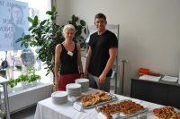 Katharina und Daniel Schlechter kreierten das großartige Buffet