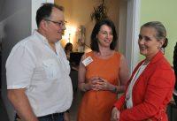 Dr. Jörg Kraus (Präsident der Österreichischen MS-Gesellschaft), Karin Krainz-Kabas (Geschäftsführerin der MS-Gesellschaft Wien) und Alexandra Vossoughi-Turnauer (Schirmherrin der MS-Gesellschaft Wien)