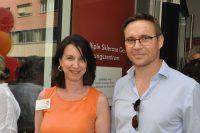 Welt-MS-Tag 2018 und 15 Jahre MS-Beratungszentrum: Karin Krainz-Kabas und Mag. Christoph Baumhackl. Foto: MS-Gesellschaft Wien