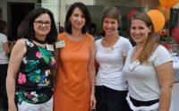 Welt-MS-Tag 2018 und 15 Jahre MS-Beratungszentrum: Martina Körtner, Karin Krainz-Kabas, Ulrike Zabransky und Katharina Pan. Foto: MS-Gesellschaft Wien