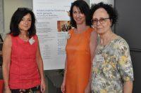 Welt-MS-Tag 2018 und 15 Jahre MS-Beratungszentrum: Dr. Gabriele Leitner, Karin Krainz-Kabas und Antonia Scharl. Foto: MS-Gesellschaft Wien