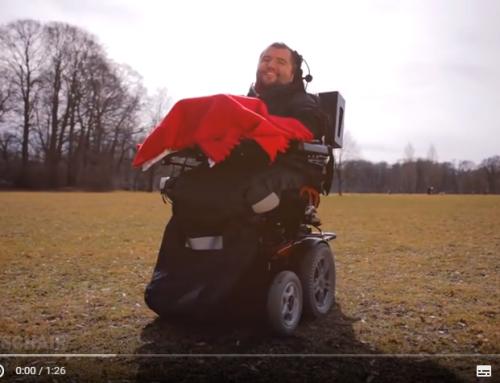 munevo DRIVE: Rollstuhlsteuerung mit Datenbrille
