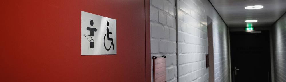 Behindertentoilette, Copyright: © Friedrichstadt-Palast, Foto: Andi Weiland | Gesellschaftsbilder.de