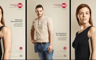 Neue Plakatkampagne der Multiple Sklerose Gesellschaft Wien