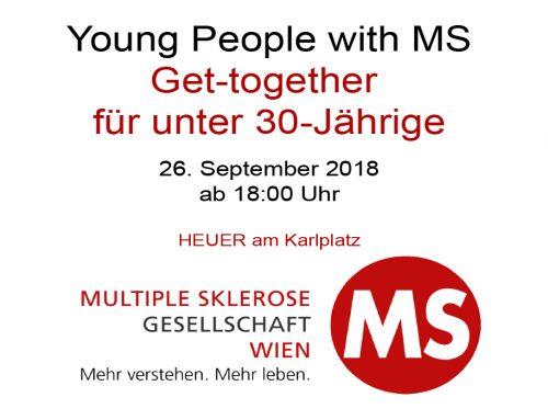 Get-together für unter 30-Jährige mit MS