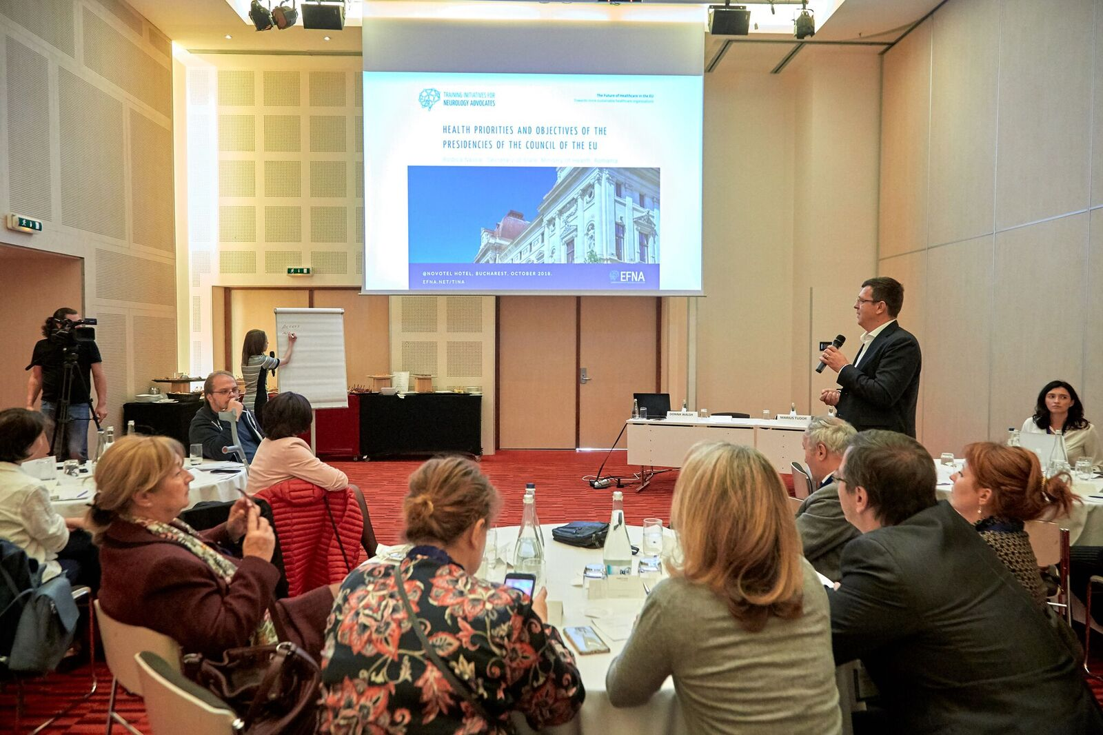 Herbstakademie der European Federation of Neurology Associations (EFNA) in Bukarest
