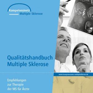 Cover: Qualitätshandbuch MS / NMOSD. Empfehlungen zur Therapie der Multiplen Sklerose