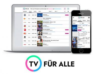 TV für alle