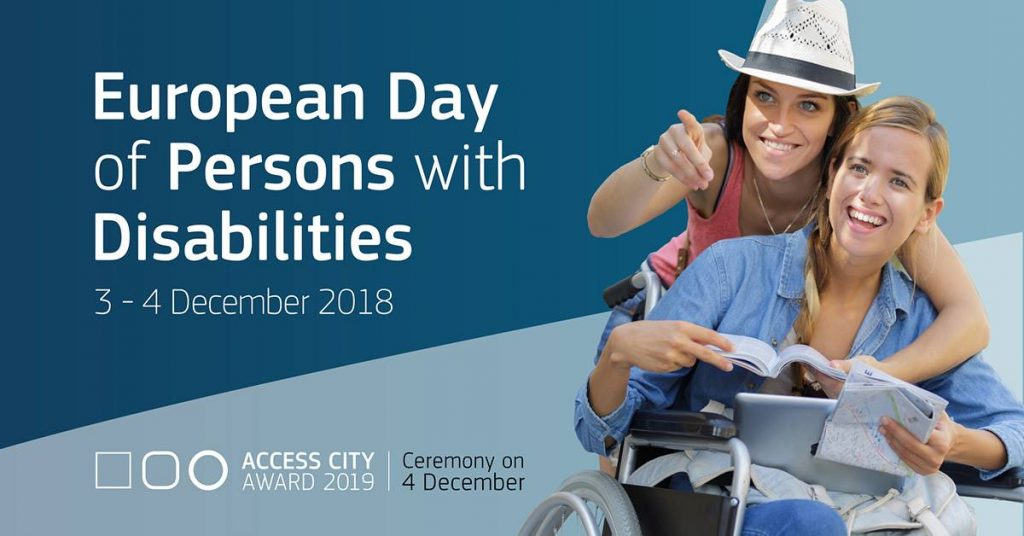 Logo European Day of Persons with Disabilities 2018
