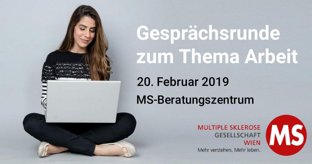 Gesprächsrunde zum Thema Arbeit, 20. Februar 2019