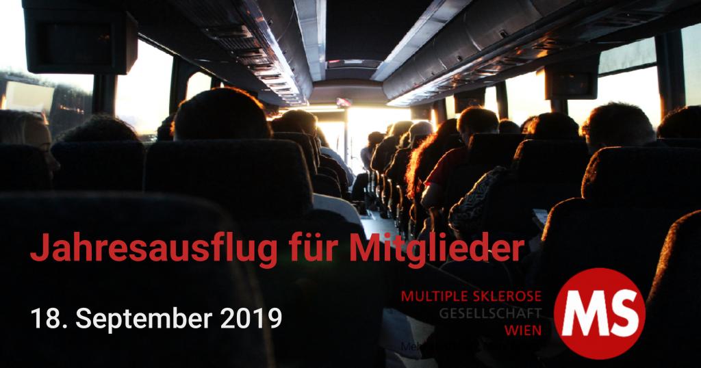 Jahresausflug für Mitglieder der MS-Gesellschaft Wien