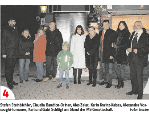 Spenden für MS-Gesellschaft Wien