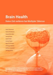 Cover: Brain Health. Keine Zeit verlieren bei Multipler Sklerose