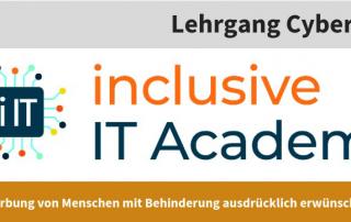 inklusive Ausbildung im Bereich Cybersecurity und Data Protection