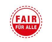 Logo FAIR FÜR ALLE – Zertifikat für Barrierefreiheit