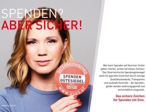MS-Gesellschaft Wien: Trägerin des Spendengütesiegels