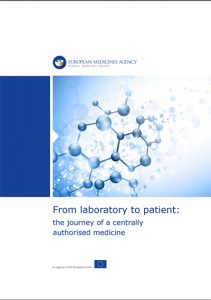 From laboratory to patient: the journey of a centrally authorized medicine. Copyright: EMA