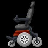 Motorized Wheelchair on Emojipedia 12.0, © 2019 Emojipedia