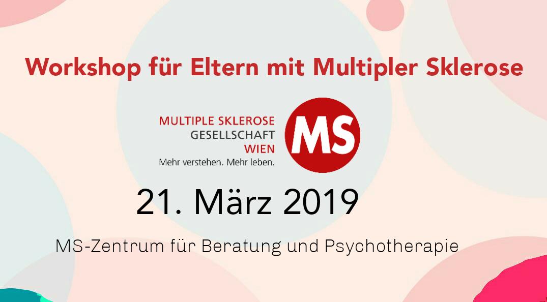 Workshop für Eltern mit Multipler Sklerose