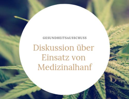 Cannabis-Diskussion im Gesundheitsausschuss