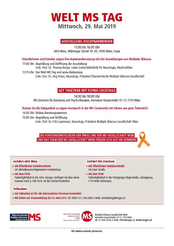 Einladung zum MS Tag 2019