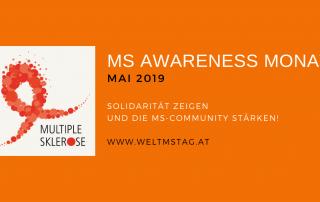 Der Mai steht im Zeichen der MS-Awareness. Den Höhepunkt bildet der Welt MS Tag am 29. Mai 2019 mit Veranstaltungen in Wien und Linz.