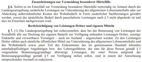 Sozialhilfe-Grundsatzgesetz, Änderung (514 d.B.)