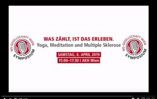 Interview mit Mag. Walter Klocker zur Frage, wie Menschen mit Multipler Sklerose von Yoga profitieren können.