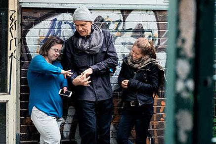 KINDER DER UTOPIE, Nathalie, Hubertus Siegert, Luca © M. Bothor