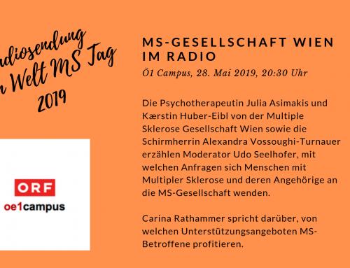 Radiosendung zum Welt MS Tag
