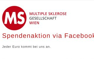 Facebook Spendenaktion