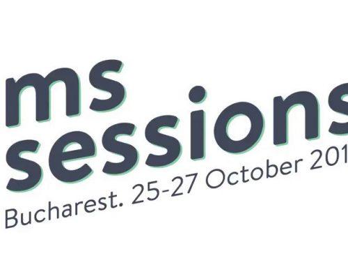 #MSSessions19 von 25. bis 27. Oktober 2019 in Bukarest