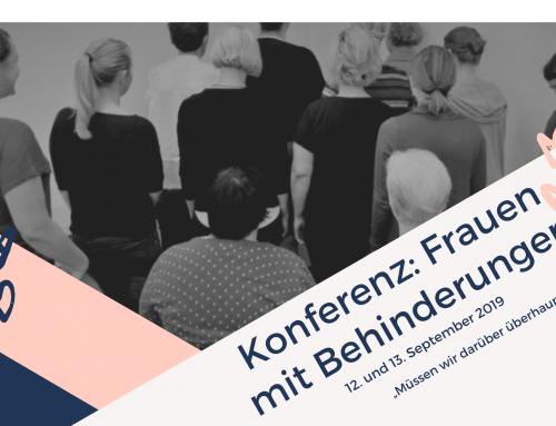 Konferenz: Frauen mit Behinderungen